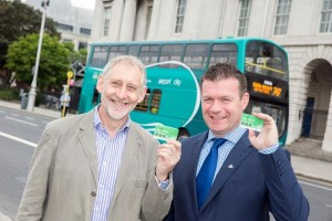 Minister Kelly launching the new card.