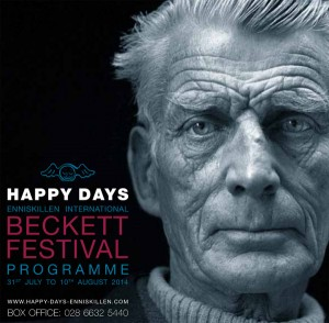 Festival drew crowds of Beckett fans.
