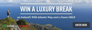 Campaign includes a competition to win a luxury break in Ireland.